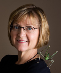 Carol-Maier – Founder of the Entomology Exhibition in Victoria, BC.